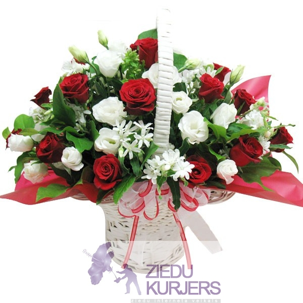 Flower basket 25