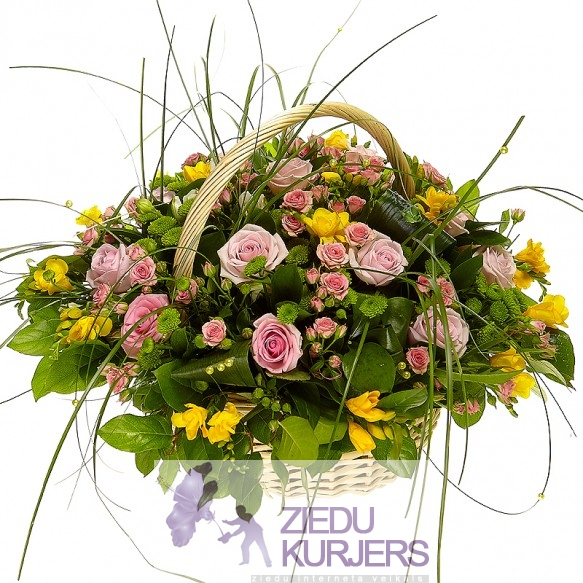 Flower basket 33